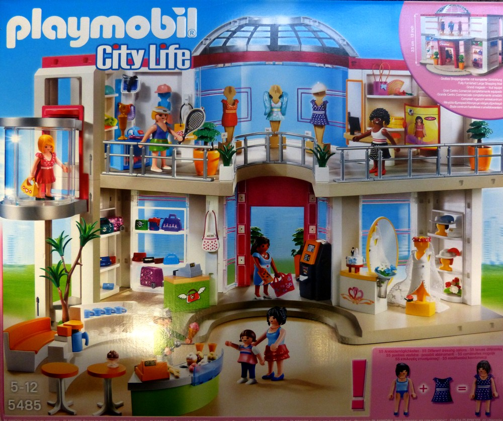 city life playmobil mall related keywords city life. Black Bedroom Furniture Sets. Home Design Ideas